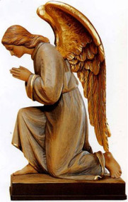 Kneeling Angel Statue-1261