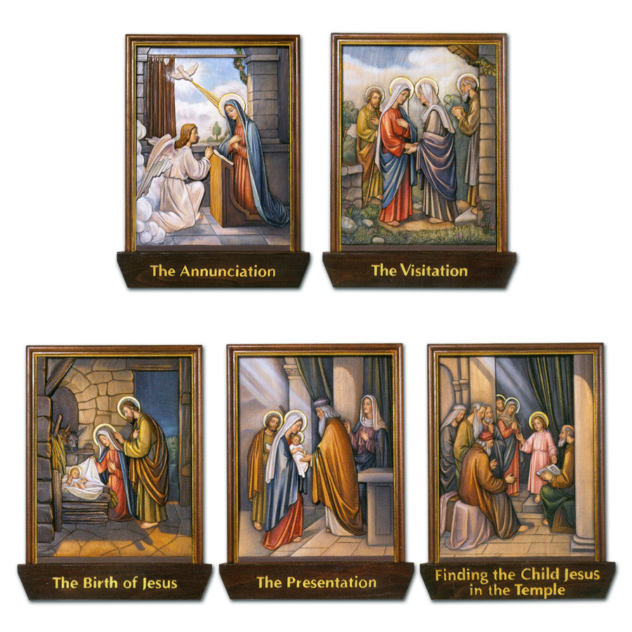 Mysteries of the Rosary-Joyful - St  Jude Shop, Inc