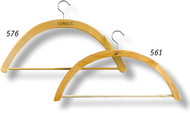 "9/16"" thick wood tone resin vestment hanger . Width 23"" ~ Fixed Metal Hook. Ideal to hang chasuble (with or without collar), dalmatic, cope, humeral veil, stole, lectern cover or superfrontal. These items are imported from Europe. Please supply your Institution's Federal ID # as to avoid an import tax.  Please allow 3-4 weeks for delivery if item is not in stock"