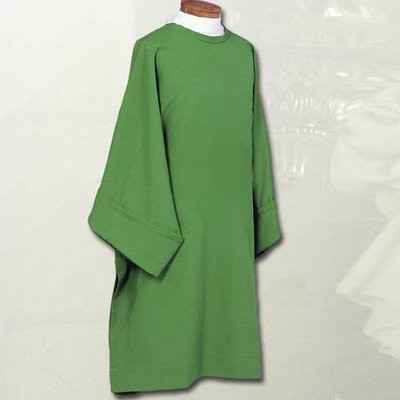 Plain DalmaticPlain Deacon Dalmatic in all liturgical colors Constructed of 100% Fortrel Polyester with a linen weave for easy care and durability