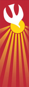 Holy Spirit Dove Banner Large and Small, 7115 and 7215