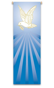 Holy Spirit Dove Banner,