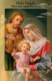 Holy Family Novena and Prayers Booklet