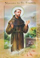 Novena Booklet, St. Francis