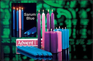 Advent Church Candles Sets