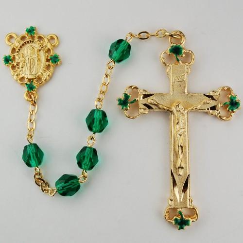 St patrick centerpiece irish rosary jude shop inc
