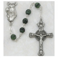 St. Patrick Rosary with Green Bead 993D/F