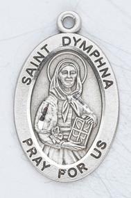 Saint Dymphna, St. Dymphna, Dymphna, Patron Saint of Mental Illnesses, mental illness.