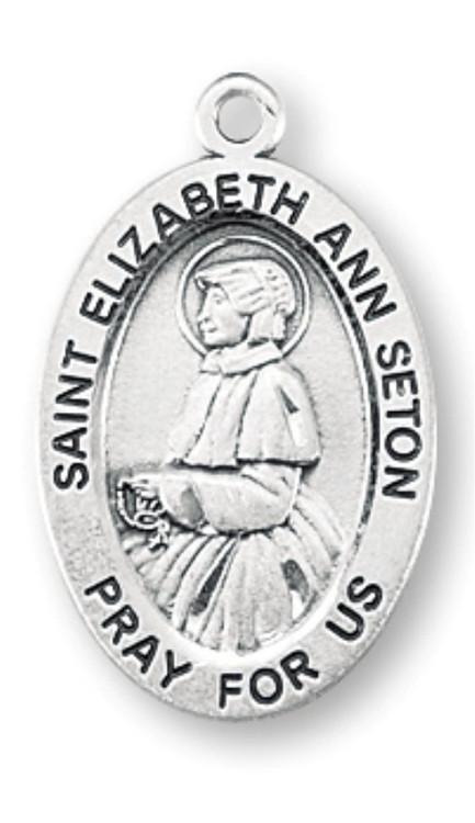 St Elizabeth Ann Seton Patron Saint Medal St Jude Shop Inc