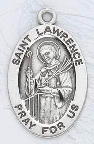 Patron Saint of Deacons, Seminarians, Cooks, the Poor, Comics