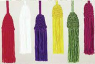 Rayon  Tassel Cinctures. A Full 4 Yards of Cord.  Available in Gold, Green, Purple, Red, Roman Purple and White. Made in the USA