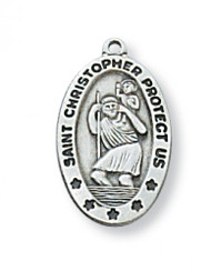 Saint Christopher Medal - L464