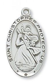 Saint Christopher Medal - L550CH