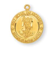 """St. Michael Medal, 5/8"""""""