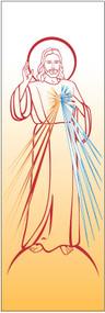 Divine Mercy Banner 7144