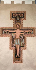 Damiano Cross Woven Banner