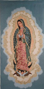 Our Lady of Guadalupe Woven Banner