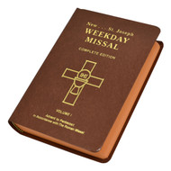 VOLUME I ADVENT TO PENTECOST This perpetual Saint Joseph Weekday Missal (Vol. I) offers all the Weekday Masses from Advent to Pentecost with all their options and prayers. In a handy size and with a flexible brown cover, this easy-to-use Missal is the perfect companion for anyone who wishes to enhance their participation at Mass during the week.