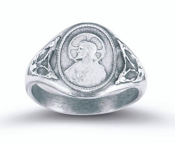 Sacred heart scapular ring r st jude shop inc