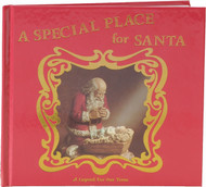 "A Special Place for Santa Hardcover Book 7.5"" x 8.5"""