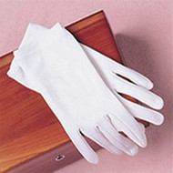 White Gloves First Communion Accessories. One Size. Ages 6 - 12