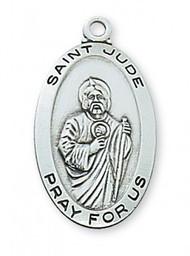 Sterling Silver Saint Jude Medal