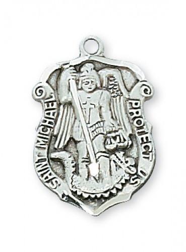 Saint Michael Policeman S Medal 425 St Jude Shop Inc
