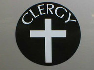 """Clergy"" 5-1/2"" Round Magnet"