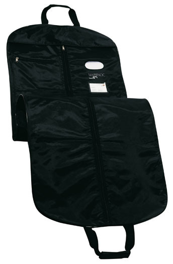 """Extra length to hang your vestments or alb in full length. Easy transport, folds in half, with two handles. Made in Man-Made Microfiber polyester with an extra strong zipper. Size, when open: 65"""" L, 23-1/2"""" W, 10"""" x 12"""" front  pocket"""