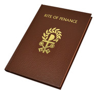 The Rite of Penance includes the complete biblical readings from the revised Lectionary for Mass as well as emendations made in accord with the 1983 Code of Canon Law. Each page in this new, larger sized volume of the Rite of Penance is formatted to allow for easy reading and to avoid unnecessary page-turning, and the entire volume is set in a specially selected typeface outstanding for its readability. Rubrics in the Rite of Penance are clearly indicated in red type, and two-color liturgical illustrations enhance the beauty of the text. Bound in brown cloth and Smyth sewn for durability, the Rite of Penance also features elegant stained edges and two ribbon markers to facilitate keeping one's place. A practical, attractive liturgical resource for this important sacramental ministry.