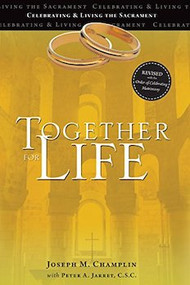 "Together for Life has been the most trusted source for wedding planning in the Catholic Church for more than forty-five years. This new edition of Together for Life contains the new texts of the most recent translation of the Order of Celebrating Matrimony. It includes all the tools engaged couples use when meeting with a priest, deacon, or lay parish minister to plan their weddings and prepare for living the sacrament of Marriage.   Together for Life includes: Approved texts for the Order of Celebrating Matrimony and prayers from the Roman Missal ""The Word Brought Home,"" scripture commentaries by Catholic leaders Catechetical commentary by Rev. Peter Jarret, C.S.C., to help couples deepen their understanding of the Church's liturgy  Hints for incorporating ethnic and cultural devotions and practices into a Catholic wedding Sample intercessions How-to guides to help parish ministers FAQ section about the celebration of Catholic weddings Size: 6 x 8, 134 pages. Together for Life is also available in Spanish. The material in Together for Life is supported by TogetherforLifeOnline.com."