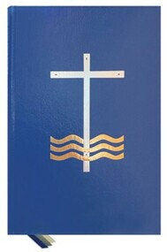 """A handsomely bound, gold and silver-stamped book, The Order of Baptism of Children, Second Edition, contains the texts for the new, revised order plus the optional rites including the order of Baptism within Mass. It features the official ritual for several children and one child; parts clearly marked for the celebrant, parents, and godparents; an explanation of the sacrament; and appropriate Scripture readings. The second edition contains large, easy-to-read type and is printed in two colors to help distinguish the parts for the celebrant, parents, and godparents. Three elegant ribbon markers assure easy use. Number of Pages: 192. Dimensions: 10.5"""" X 7.25""""."""