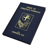 """Blue Cloth Edition- The Order of Christian Funerals (with Cremation Rite) contains texts for The Vigil and related rites and prayers, the Funeral Liturgy, Rite of Committal, Funeral Rites for Children, as well as texts for Scripture Readings, the Office for the Dead, and additional texts. This liturgical book for Catholic funerals also includes the material from Appendix 2: Cremation (except for """"Reflection""""), approved and published in 1997. The Order of Christian Funerals (with Cremation Rite)is attractively bound in durable blue cloth with colored edges Also includes the material from Appendix 2: Cremation (except for """"Reflection""""), approved and published in 1997. Size: 7 1/4"""" x 10 1/4"""" ~ 416 pages"""
