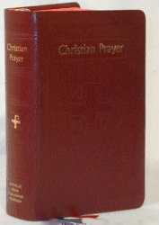 Christian Prayer is the official one-volume edition of the internationally acclaimed Liturgy of the Hours. This regular edition of Christian Prayer contains the complete texts of Morning and Evening Prayer for the entire year. With its readable 10-pt. type, ribbon markers for easy location of texts, and beautiful two-color printing, this handy little one-volume Christian Prayer  simplifies praying the official Prayer of the Church, the Liturgy of the Hours, for today's busy Catholic. Flexible maroon cover and with a current annual guide. Regular Text 2080 Pages ~  4 3/8W X 6 3/4H