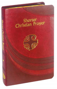This abbreviated version of the internationally acclaimed LITURGY OF THE HOURS contains Morning and Evening Prayer from the Four-Week Psalter and selected texts for the Seasons and Major Feasts of the year. Printed in two colors, this volume includes a useful ribbon marker. Its handy, practical size makes this edition ideal for personal or parish use.