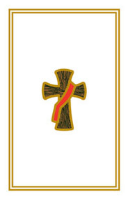 "Deacon Cross Holy Cards. 2 3/4"" x 4 1/4"". 100 per box"