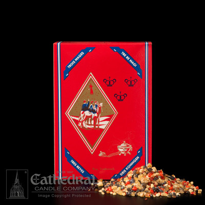 Three Kings Cathedral #3 Blend; One Pound Box. A premium resin blend, with a combination of frankincense and sandalwood