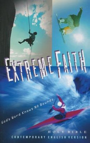 "The Extreme Faith Bible is a Contemporary English Version (CEV) Bible that speaks directly to the core interests of today's youth. A special introductory section gives more than a traditional Bible as it explores many of the issues youth face on a daily basis. What is Extreme Faith? All of us have had to make tough decisions or solve a difficult problem at one time or another. In the Bible we find the good news that ""God accepts everyone who has faith."" (Romans 1.17) Faith, trusting in God, is what helps us when facing difficult times…Extreme Faith! This youth edition of the Contemporary English Version (CEV) Bible is filled with exciting stories and adventures of ordinary people who do extraordinary things because of their extreme faith in God. Translated from the original languages with accuracy and clarity by members of the American Bible Society's Translation Team, the CEV Extreme Faith Bible is a low-cost, readable, resource with extra features that make it ideal for outreach & evangelism. Features:  Introductory section on youth issues and biblical responses Book introductions Outlines Maps Mini Dictionary Chronology of the Bible Articles, including: ""What is Extreme Faith""? ""What's in the Bible?"" ""How to Read the Bible"" Guides to reading the BibleTwo-column layout with translation and textual footnotes Readings for special days Famous passages in the Bible Finding help in the Bible What the Bible says about forgiveness Topical subheadings 9-point text size 8.25"" x 5.25 x 1.50"""