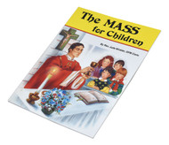 "St Joseph Picture Books ""The Mass for Children"". Part of a magnificent series of religious books that will help all children better understand the Catholic faith. Simply written and illustrated in full color."