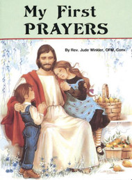 "St Joseph Picture Books ""My First Prayers"". Part of a magnificent series of religious books that will help children better understand the Catholic faith.  Simply written and illustrated in full color"