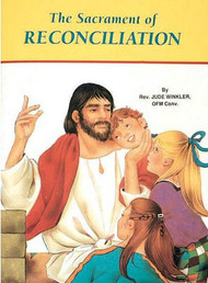 "St Joseph Picture Books ""The Sacrament of Reconciliation"". Part of a magnificent series of religious books that explains this Sacrament in easy-to-understand language in order for children to better understand the Catholic faith. Simply written and illustrated in full color."