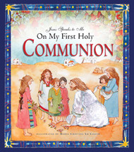 "In this unique gift book, Jesus speaks warmly and lovingly to children who are receiving him in the Eucharist for the first time. In twelve scenes from Scripture, from Creation to Pentecost, Jesus explains that it is his Father's plan for each child to be part of their family of love. Colorfully illustrated and includes pages to preserve memories of the day.  Also include traditional prayers such as the Our Father and the Hail Mary. Hardcover Edition , 48 pages ~ 8 1/4"" x 9 1/4"" ~ ages 5-10"