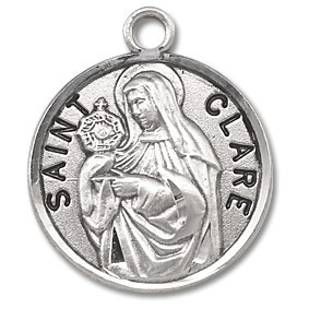 Saint Clare Medal