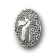 Sterling Gold Plated Deacon Cross Lapel pin that features the Deacon Cross with Stole.  Also available in 14K Gold. Please call 1 800 523 7604 for pricing.