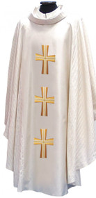 Chasuble or Dalmatic 652/PS-in Green, White, Purple, Red, Rose