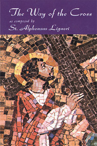 "Among the best known prayers for the Way of the Cross are those first published in Italian by St. Alphonsus Liguori in 1761, which are presented here in a new, revised translation. In his brief introduction to this devotion, St. Alphonsus wrote: ""the pious exercise of the Way of the Cross represents the sorrowful journey that Jesus Christ made with the cross on His shoulders, to die on Calvary for the love of us.  We should, therefore, practice this devotion with the greatest possible fervor, placing ourselves in spirit beside our Savior as He walked this sorrowful way, uniting our tears with His, and offering to Him both our compassion and our gratitude."""