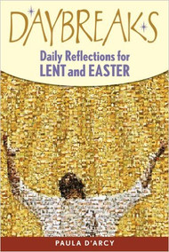 "These poignant reflections will touch your heart in a way that can only move you closer to God. The author explores the themes of love, fear, pain, and promise in ways that will move you emotionally, guide you spiritually, and make this Lent and Easter season a rewarding journey.   Begin your day with a Daybreaks meditation. Find a quiet, peaceful place. The reflections will only take a few moments, but allow time for the message to unfold in your heart. As it does, consider how these ideas impact your life. Think about ways you can change your attitudes and beliefs and hear the words, ""Come, follow me."""