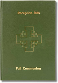 "8 1/2"" x 11"" handsomely bound in green imitation leather. Front cover stamped in gold with a 4"" Jerusalem Cross. Hardback, 50 pages. Space for 200 entries"