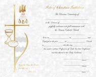 Pre Printed Certificiates