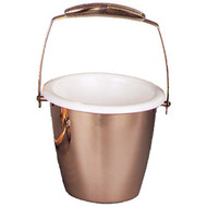Holy Water Pot 1100-29. Holy Water Pot comes supplied with sprinkler and aclear plastic liner for interior of holy water pot. Metals available are bronze or brass. Finishes available are high polish or satin. Oven baked for durability.